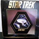 1993 Star Trek - Starship Enterprise Porcelain Plaque - First Edition - In Box!