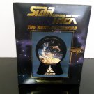 1994 Star Trek Klingon Bird Of Prey Lighted/Musical Globe Halodome