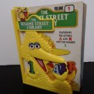 The Sesame Street Library - 12 Hardcover Books Plus Big Bird Bookends