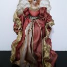 Vintage 16' Angel Tree Topper / Ornament