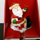 New Old Stock -  Santa Claus Stocking Holder