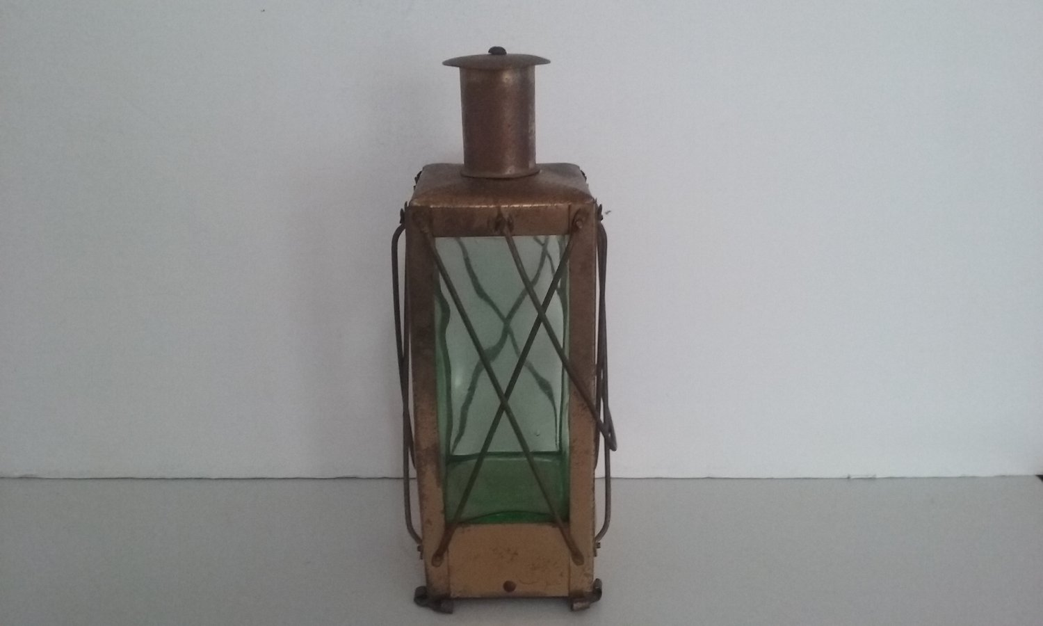 """Vintage Musical Lantern """"For He's A Jolly Good Fellow"""""""