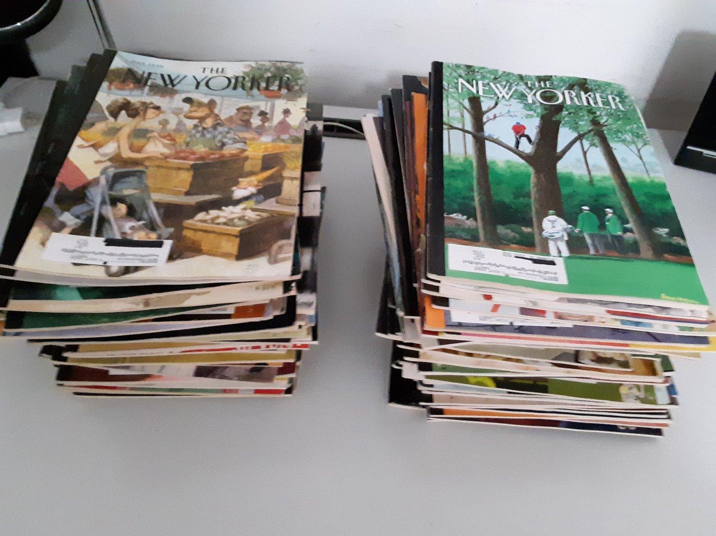 115 Vintage New Yorker & Cooks Magazines