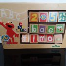 Vintage Sesame Street - All Wood Block Interactive Toy