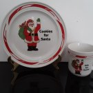 Santa Claus - Cookies For Santa - Plate & Mug