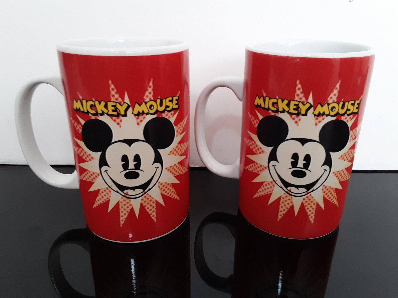 2 - Disney Mickey Mouse Mugs