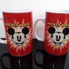2 - Disney Mickey Mouse Mugs