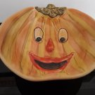 Vintage Halloween Pumpkin Candy Bowl - Made in Italy