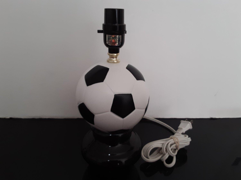 "12"" Soccer Ball Table Top Lamp"