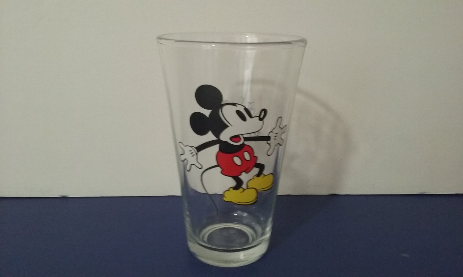 Vintage Mickey Mouse Drinking Glass - Libby's