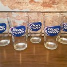 Vintage 5 Bud Light - 14oz Beer Glasses