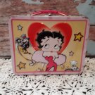 Vintage Betty Boop 3D Tin Lunch Box