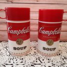 2 Vintage 1993 Campbell Soup Thermoses