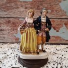Vintage Porcelain Figurine - Victorian Man & Woman - Made in Occupied Japan