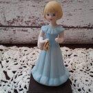 Growing Up Birthday Girl Age 6 - Porcelain Figurine - Enesco 1982    (1143)