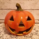 Large Halloween Ceramic Pumpkin