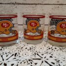 3 San Francisco 49ers 1989 Super Bowl XXIII Highball Glasses