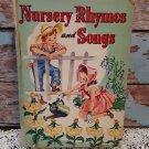 "Rare 1944 - ""Whitman Publishing Book"" - Nursery Rhymes  &  Songs"