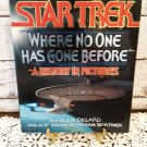 """Vintage Star Trek Collectors Book """"Where No One Has Gone Before""""  Circa 1994"""