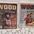"Vintage Better Homes and Gardens ""Wood"" Magazine April 1986 & February 1987"