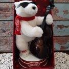 NEW! Coca-Cola Animated Jazz Polar Bear