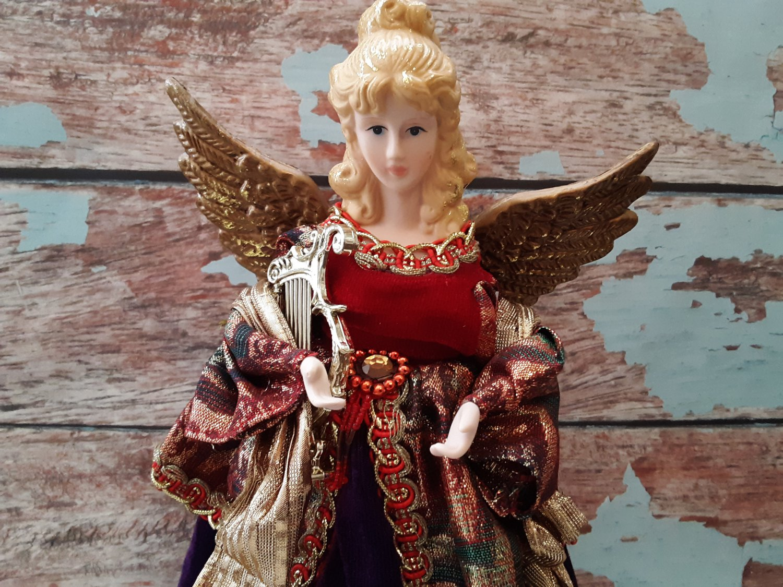 "12.5"" Angel Christmas Tree Topper"