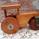 Unique! Handmade Solid Wood Farm Tractor / Rolling Pin