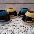 4 Nascar Drivers Helmet Shaped Mugs