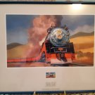 Framed 1999 USPS Stamp - Daylight - Los Angeles To San Francisco
