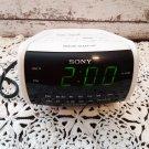 Vintage Sony AM/FM Alarm Clock Radio - White - ICF-C112