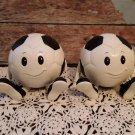 Smiley Face  Soccer Ball Bookends