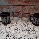 4 Hershey Chocolate Mugs