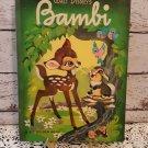 """Rare! Vintage 1949 Golden Book - Walt Disney's """"Bambi"""" Hard Cover Book!"""