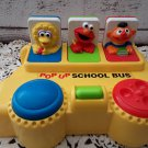 1995 Tyco - Sesame Street Pop Up School Bus - Elmo, Ernie, Big Bird