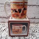"New Old Stock! Vintage 1989 Potpourri Press ""Quall"" Coffee Mug in box!   (1246)"