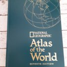 1999 National Geographic - Atlas Of The World - Seventh Edition - Free Shipping
