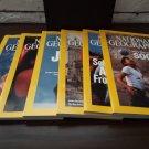 Jan-June 2006 National Geographic Set - Free Shipping