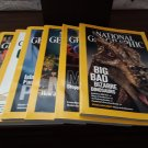 July - December 2007 -  The National Geographic Magazine Set - Free Shipping