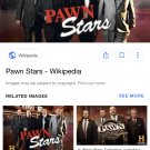 Pawn stars seasons 1 to 12. S1 to s15 in America