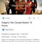 Dragons den Canada seasons 1 to 12