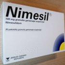 Nimesil 30 Sachets Pain Relief Headache Menstrual Painkillers Nimesulide 100mg