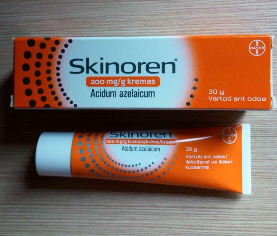 Azelaic Cream Treatment Acne Melasma Rosacea Becteria Inflammatory