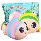 Sanqi Elan 13cm Rainbow Fish Squishy Slow Rising Toy With Original Packing