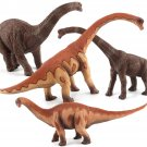 Large Brachiosaurus Dinosaur Toy Realistic Diecast Model Solid Plastic Gift To Kids