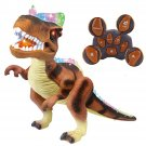 Kids RC Animated Remote Control Action Dinosaur Dancing Toys Gift Figure