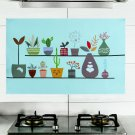 Kitchen Stove Oil-proof Waterproof Anti-hot High Temperature Wall Sticker