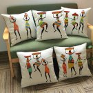 Ethnic Style Pillow Case Cotton Linen Pillowcase Cover Car Cushion Sofa