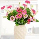 Wheel Chrysanthemum False Flowers Silk Flower Living Room Decorations