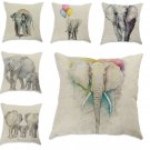 1Pc Cotton Linen Decorative Pillow Cover Case