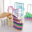 Holder Wardrobe Rack Storage Organizer Cloth Hanger Stacker